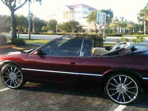 drop top cadillac for sale buy used 1997 cadillac eldorado etc drop top convertible