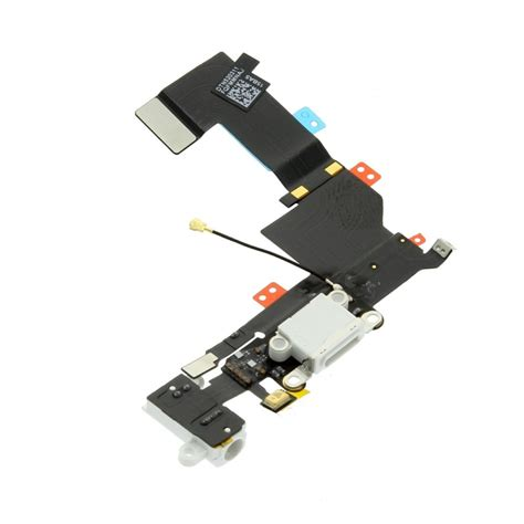 Connector Conector Konektor Charger Iphone 5s charge connector flex cable white minpex