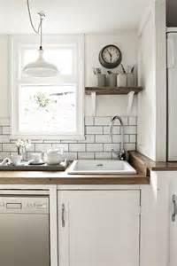 white subway tile kitchen white subway tile amp dark grout kitchen crazed