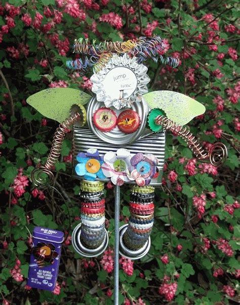 recycled garden ideas recycled garden craft ideas