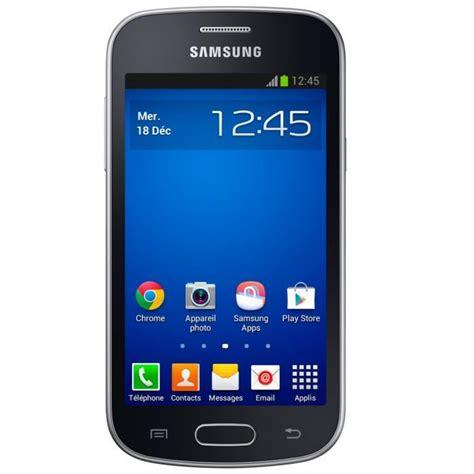 samsung galaxy trend lite noir achat smartphone pas cher