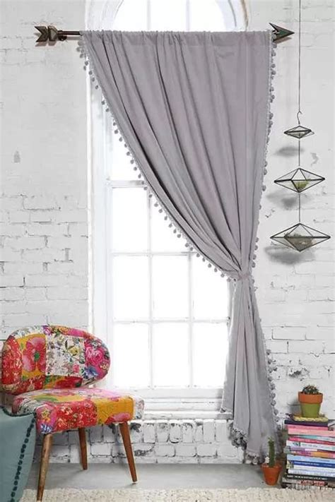 how to hang curtain holdbacks 25 best ideas about pom pom curtains on pinterest