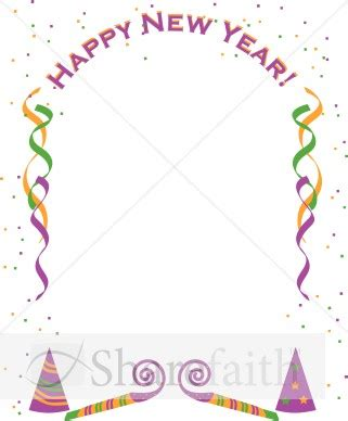 new year borders new year s border clipart