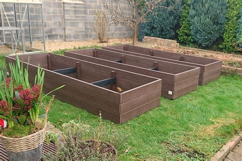 recycled plastic raised garden beds maintenance free raised beds recycled products