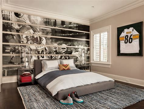 sports murals for bedrooms east coast inspired family home home bunch interior