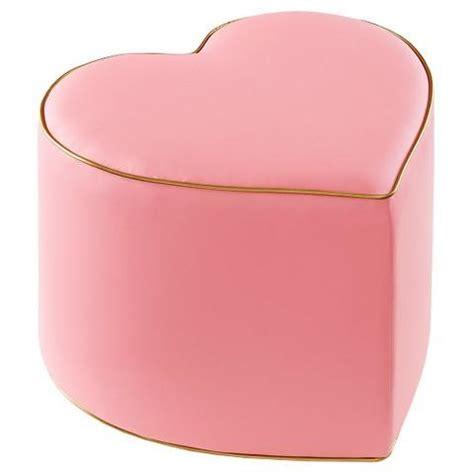 pink ottoman pink and gold ottoman