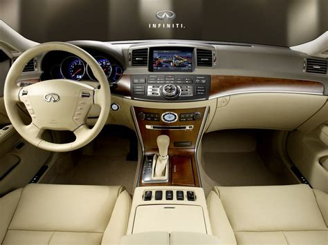 luxury cars interior infiniti m45