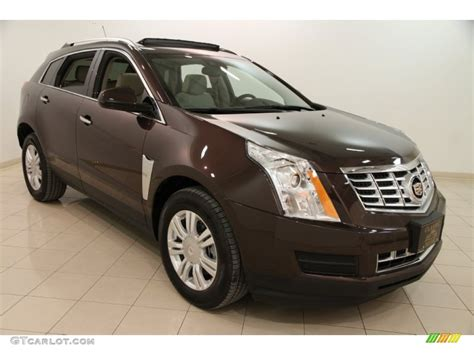 2015 cocoa bronze metallic cadillac srx luxury 101518890 gtcarlot car color galleries