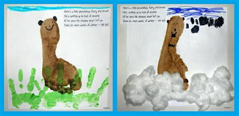 groundhog day kindergarten lesson plans footprint craft and graphing activity for groundhog day