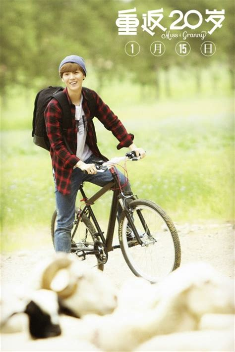 film china luhan new stills of luhan in chinese quot miss granny quot remake