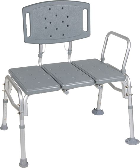 medical transfer bench heavy duty bariatric plastic seat transfer bench drive