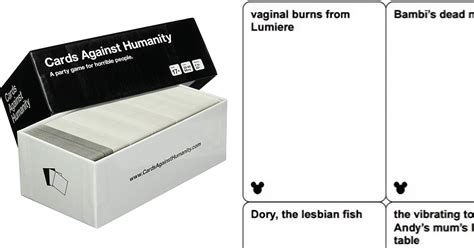 Cards Against Disney Template by Disney Cards Against Humanity May Be Coming Out Soon And