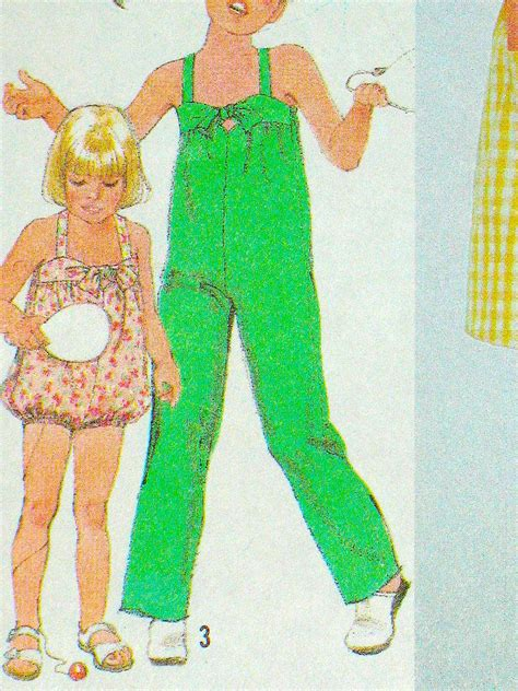 jumpsuit pattern child sewing pattern for kids jumpsuit romper and sundress by