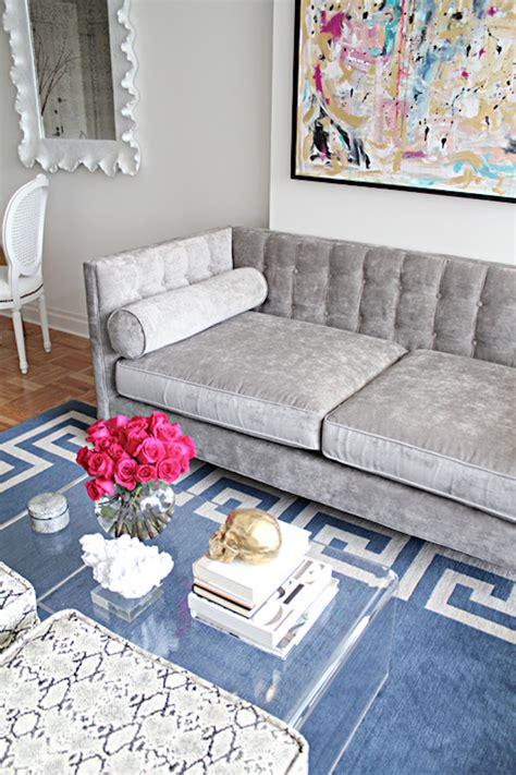velvet living room furniture daodaolingyy com 12 grey velvet sofas for the living room you ll love