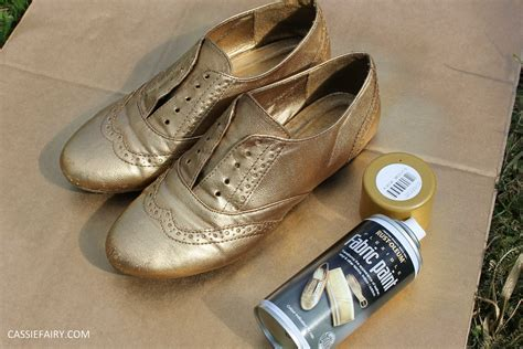 diy shoe spray tuesday shoesday diy shoe makeover using spray paint
