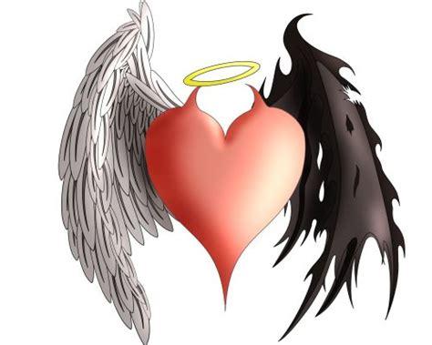 tattoo angel heart heart angel devil wings tattoo flash awesome ideas for