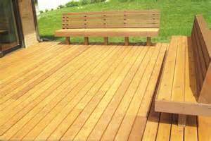 Stone Patio Bench Design Cedar Wood Deck Benches Back Yard Pinterest