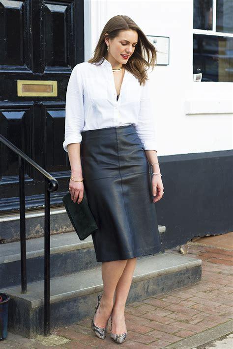 black leather midi skirt archives the elgin avenue