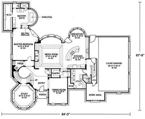 Southern Mansion House Plans by 21 Best Images About Floorplans On 2nd Floor