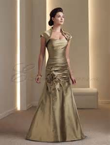 Silk ruched bodice strapless mermaid mother of the bride dress