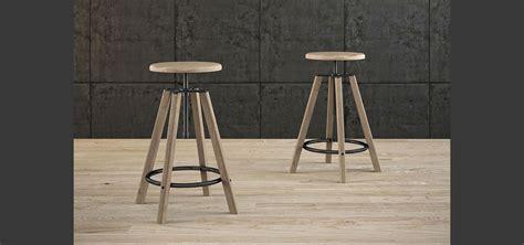 sgabelli in metallo hugo sgabello con struttura e seduta in legno anello