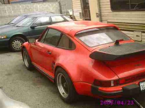 porsche 930 turbo wide body find used 1981 porsche 911 930s turbo look wide body slant