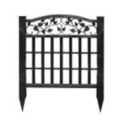 home depot decorative fence garden fencing fencing the home depot