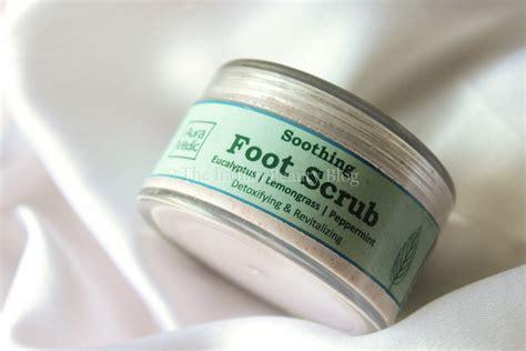 Foot Scrub aura vedic soothing foot scrub