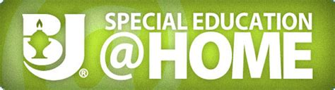 special education at home bju press homeschool