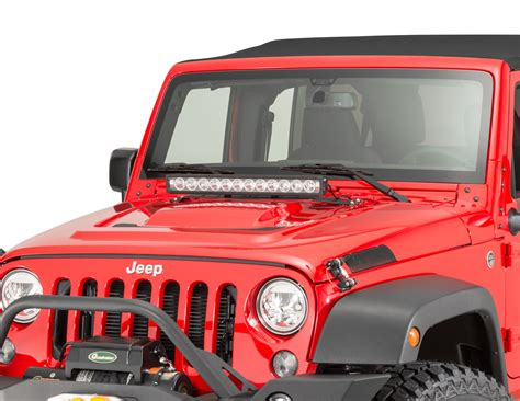Jeep Light Bar Led Vision X 24 Quot Xmitter Prime Iris 12 Led Light Bar With Mount Bracket For 07 18 Jeep Wrangler