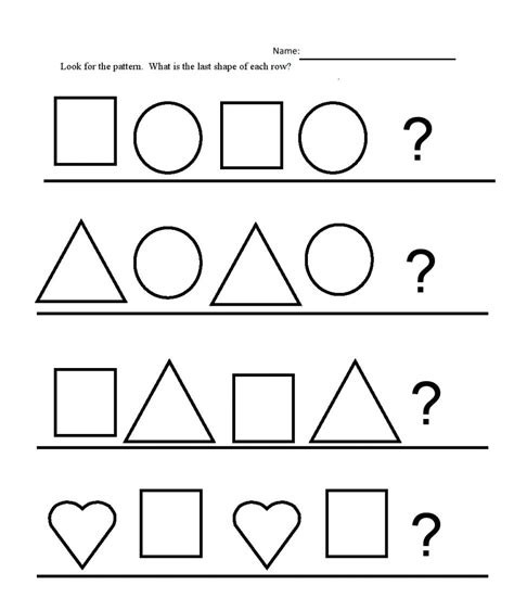abc pattern for kindergarten worksheet abc patterns worksheets