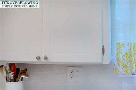 kitchen doors with rounded edges add simple trim and paint to cabinets keep the rounded