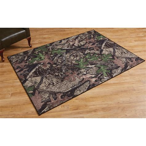 camo rug true timber htc camouflage rug 661638 rugs at sportsman s guide