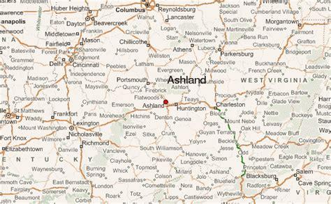 kentucky map ashland ashland kentucky location guide
