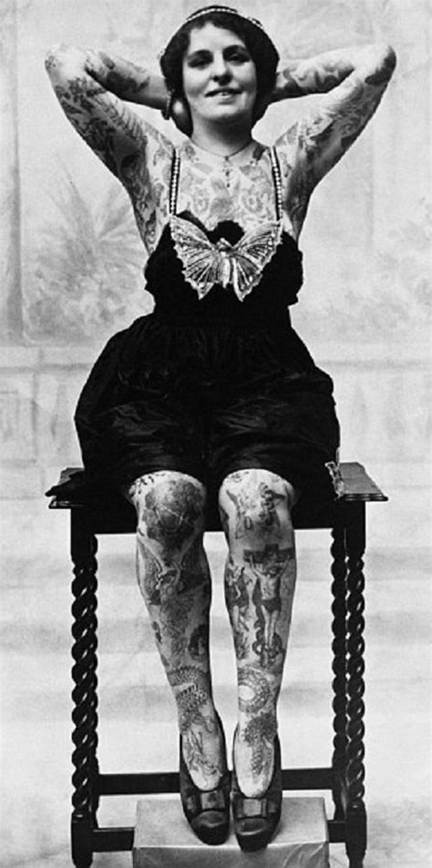 head to toe tattoos vintage photographs of women beauty will save beauty will save head to toe tattoos vintage photographs
