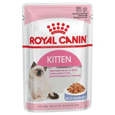 Royal Canin Wetfood Kitten Instinctive royal canin kitten instinctive in jelly free p p 163 29 at