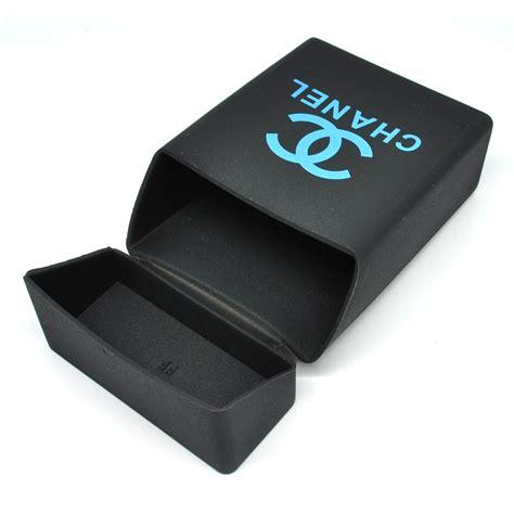 Kotak Rokok 2 cover kotak rokok silicone motif channel black