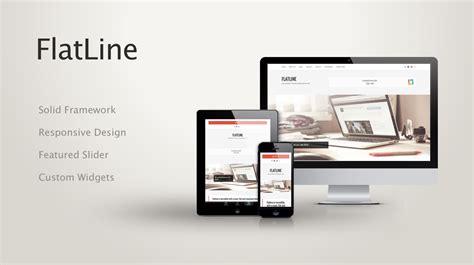 Flatline Responsive Business Wordpress Theme Themes | flatline responsive business wordpress theme themes