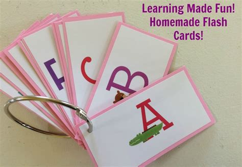 printable alphabet flash cards from homemade by jill homemade flash cards get crafty with zink nepa mom