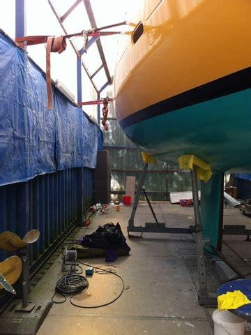 polyester boot laten verven zeilersforum nl gelshield epoxy aanbrengen en stempels 1 1