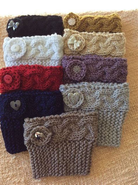 free knitting patterns for boot cuffs 25 best ideas about knitted boot cuffs on