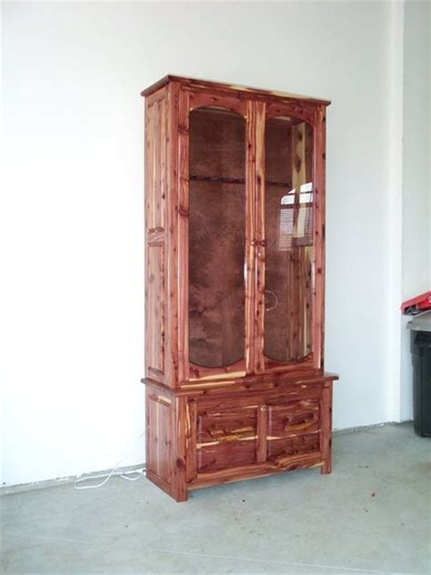 Cedar Gun Cabinet by Cedar Gun Cabinet By Steve Woolley Lumberjocks