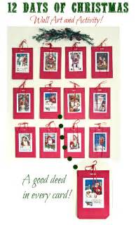 12 days of christmas holiday craft and activity with