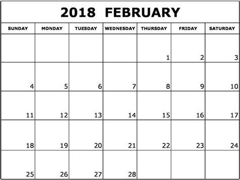calendar template australia february 2018 calendar australia calendar template