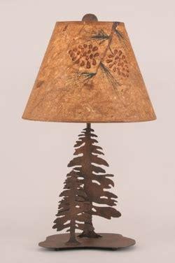 pine cone l shade rustic cabin pine cone decor