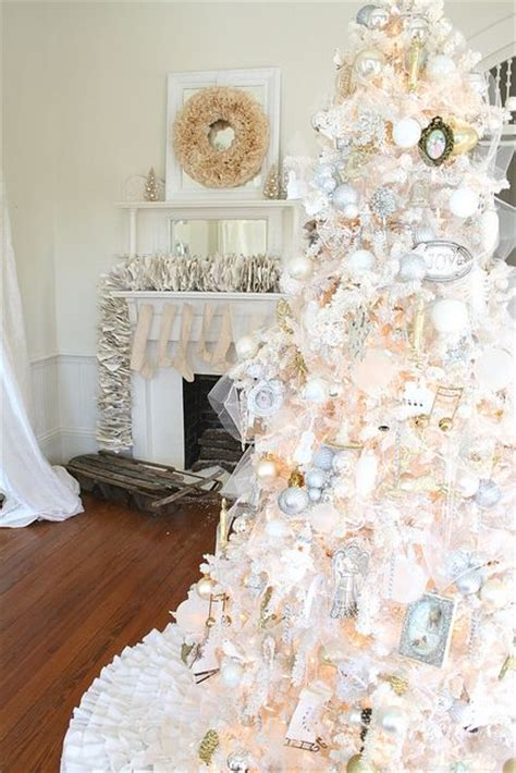 white and gold decorated trees 17 best images about gold and silver on