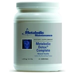 Metabolism Detoxes by Metabolic Detox Complete 2 3 Lbs By Metabolic Maintenance