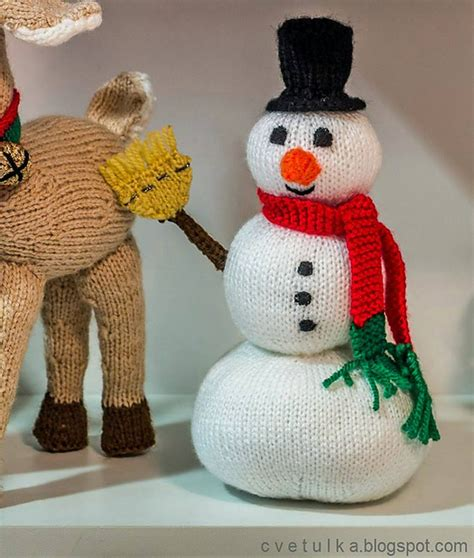 how to knit a snowman pattern knitting patterns galore frosty snowman