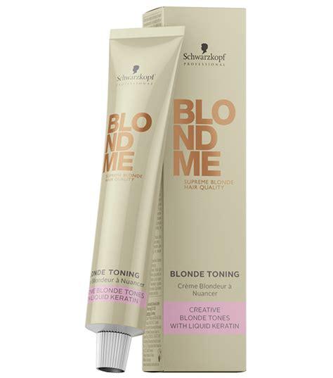 Sale Toner 60ml schwarzkopf blondme toner 60ml farben haarfarben haare