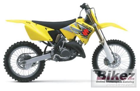 2002 Suzuki Rm125 2002 Suzuki Rm 125 Specifications And Pictures